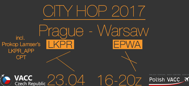 Prague Warsaw City Hop 23 4 2017